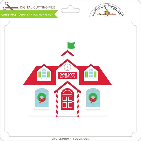 Christmas Town - Santa's Workshop