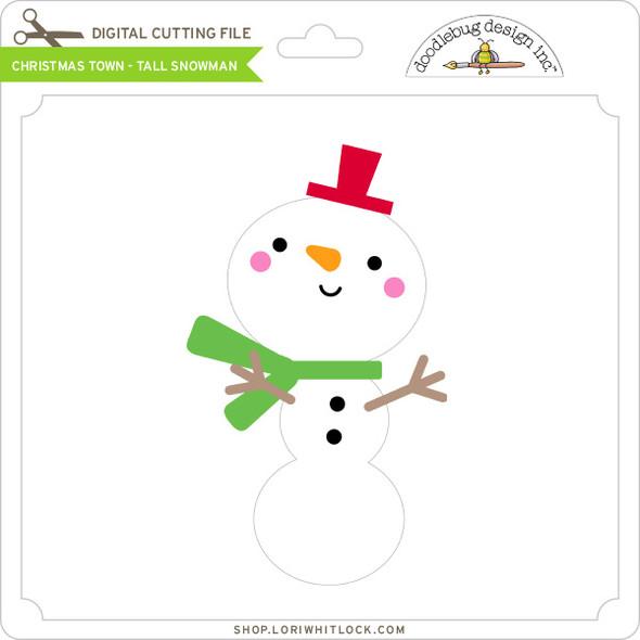 Christmas Town - Tall Snowman
