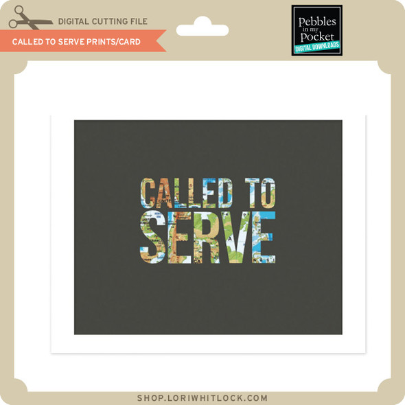Called to Serve Prints Card