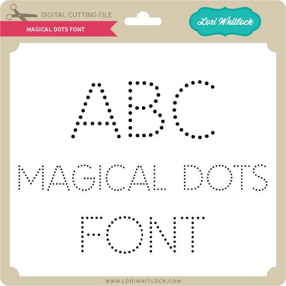 Magical Dots Font