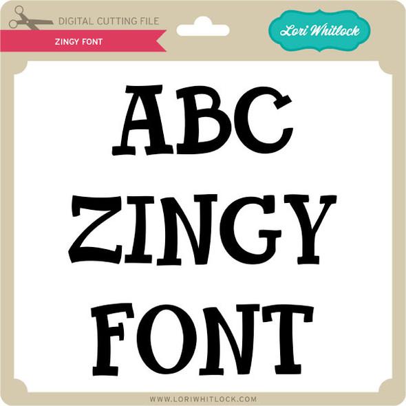 Zingy Font