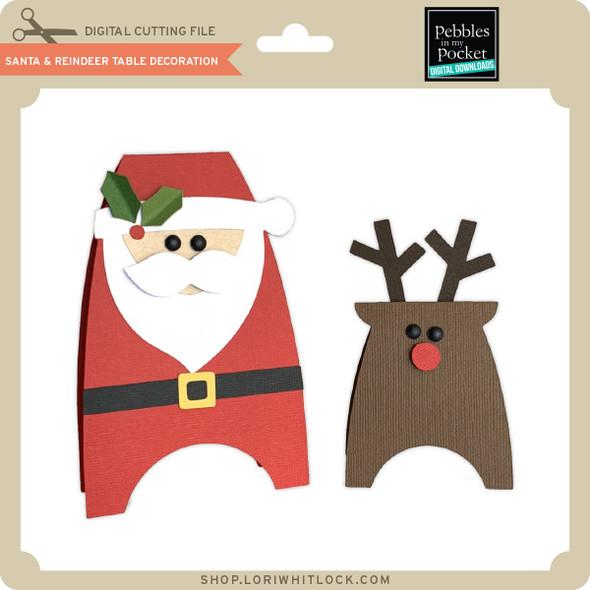 Santa & Reindeer Table Decoration