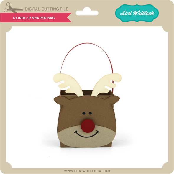 Reindeer Shaped Bag