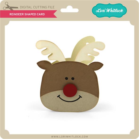 Reindeer Shaped Card 2