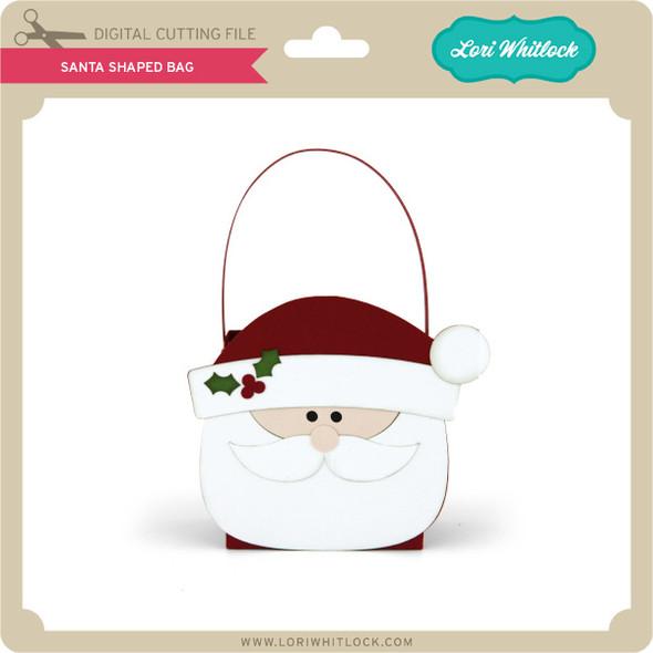 Santa Shaped Bag