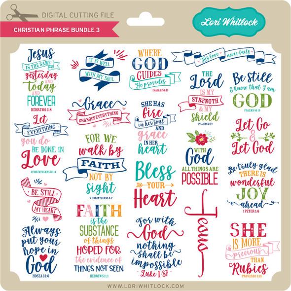 Christian Phrase Bundle 3
