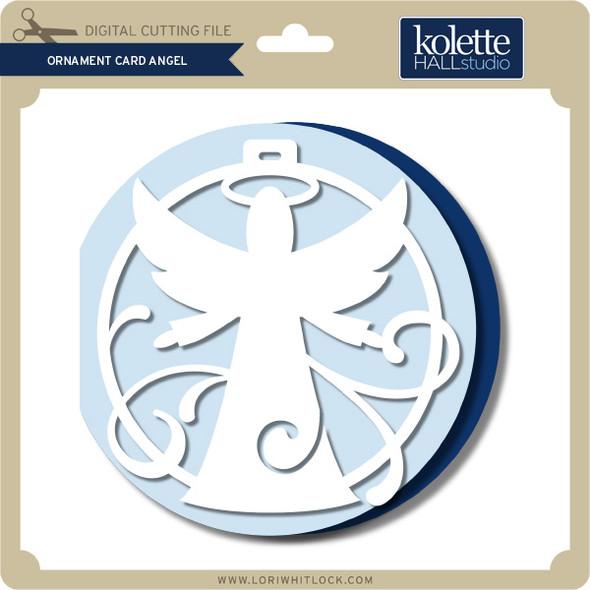 Ornament Card Angel