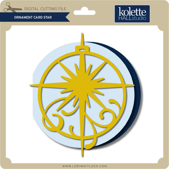 Ornament Card Star