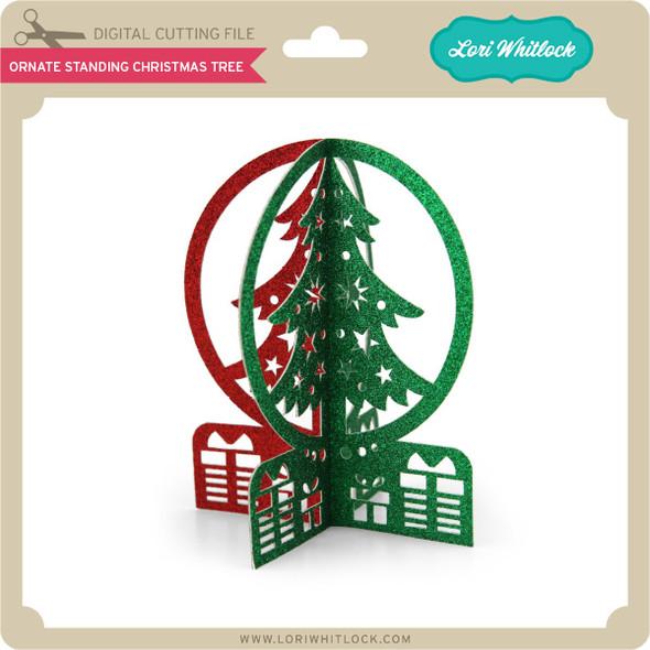 Ornate Standing Christmas Tree