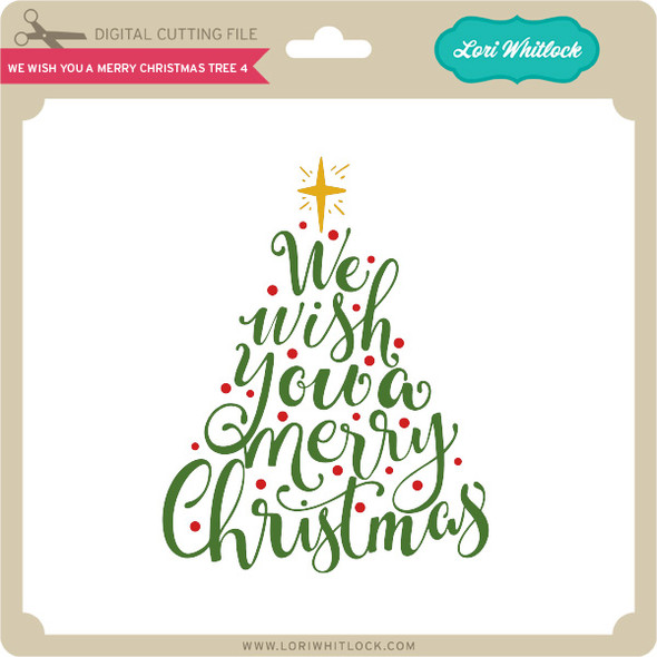 We Wish You a Merry Christmas Tree 4