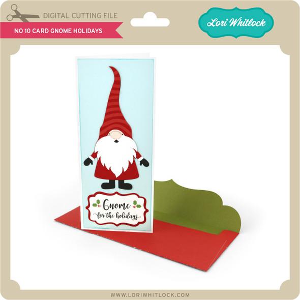 No 10 Card Gnome Holidays