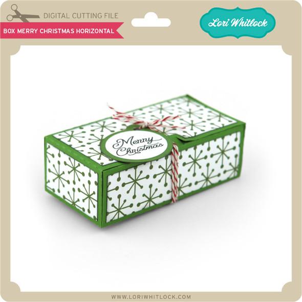 Box Merry Christmas Horizontal
