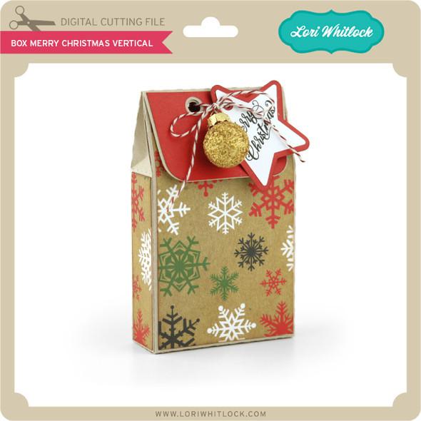Box Merry Christmas Vertical