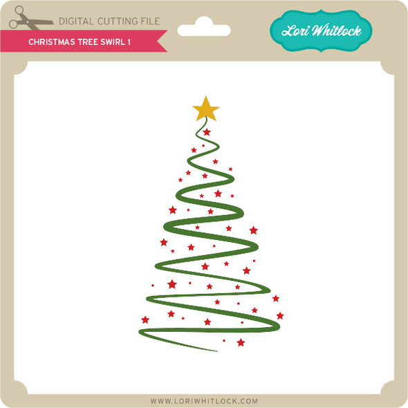 Christmas Tree Swirl 1