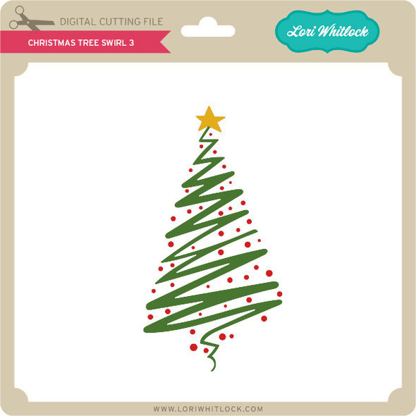 Christmas Tree Swirl 3