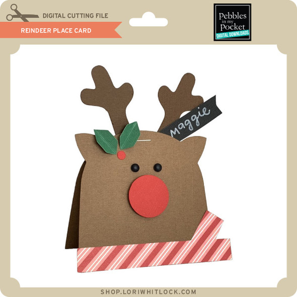 Reindeer Place Card