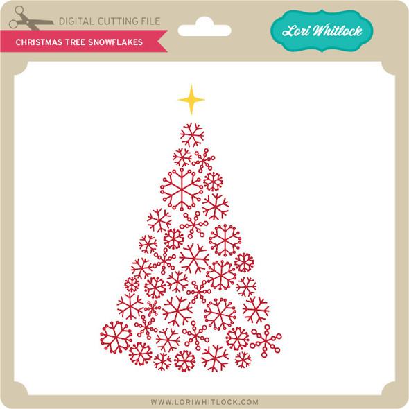 Christmas Tree Snowflakes