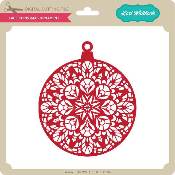 Lace Christmas Ornament