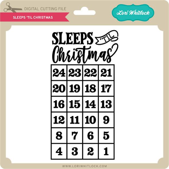 Sleeps 'Til Christmas
