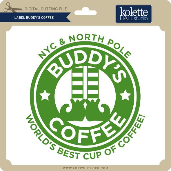 Label Buddy's Coffee