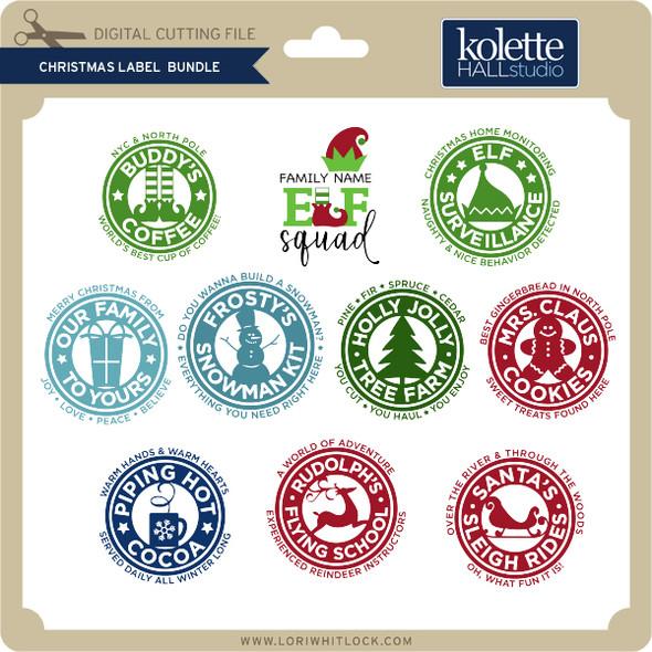 Christmas Label Bundle