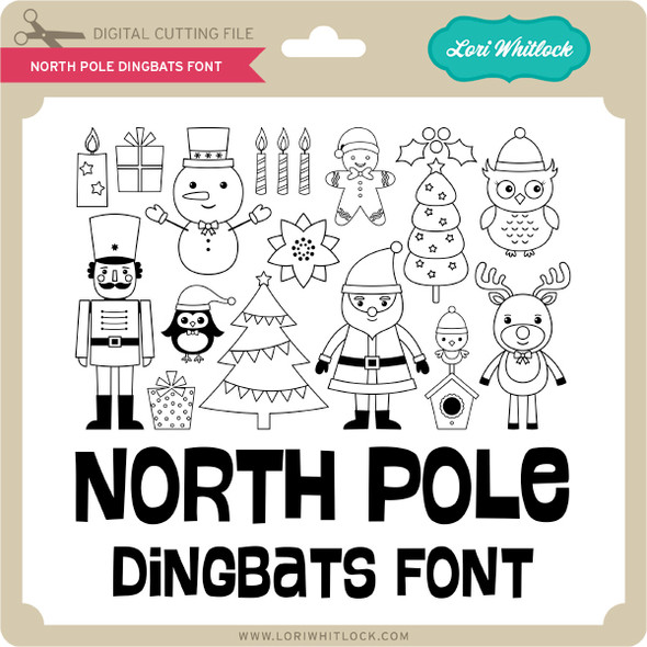 North Pole Dingbat Font