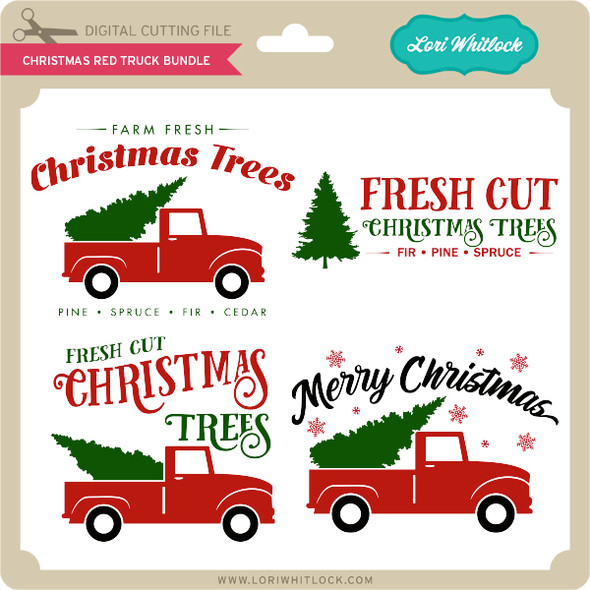 Christmas Red Truck Bundle
