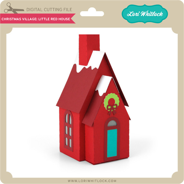 Christmas Village: Little Red House
