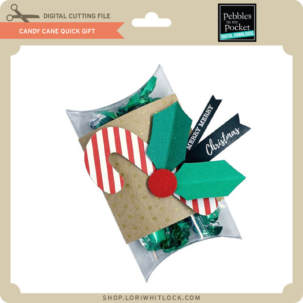 Candy Cane Quick Gift