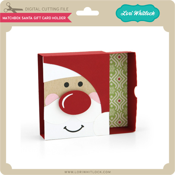 Matchbox Santa Gift Card Holder