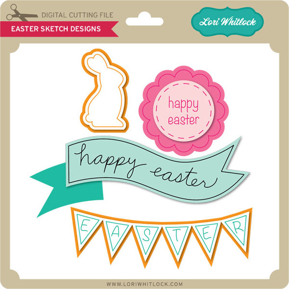Easter Sketch Designs