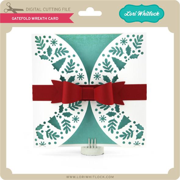 Gatefold Wreath Card