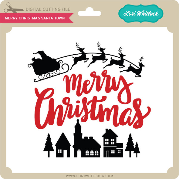 Merry Christmas Santa Town