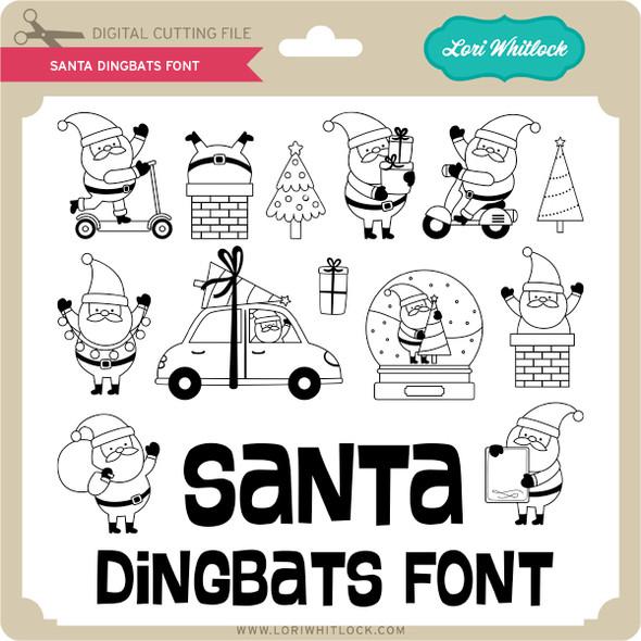 Santa Dingbats Font