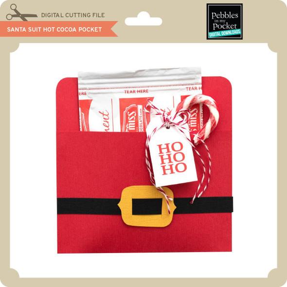 Santa Suit Hot Cocoa Pocket