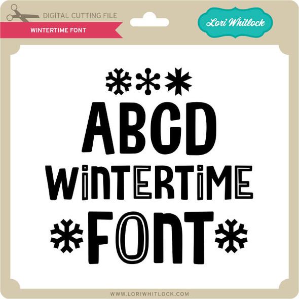 Wintertime Font