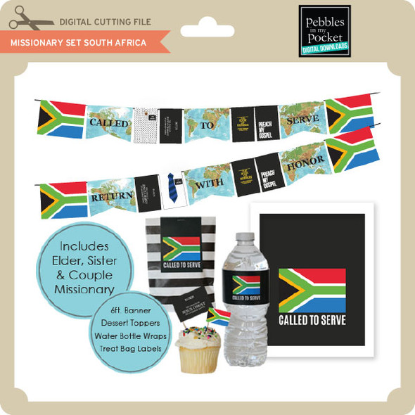 Missionary Set South Africa