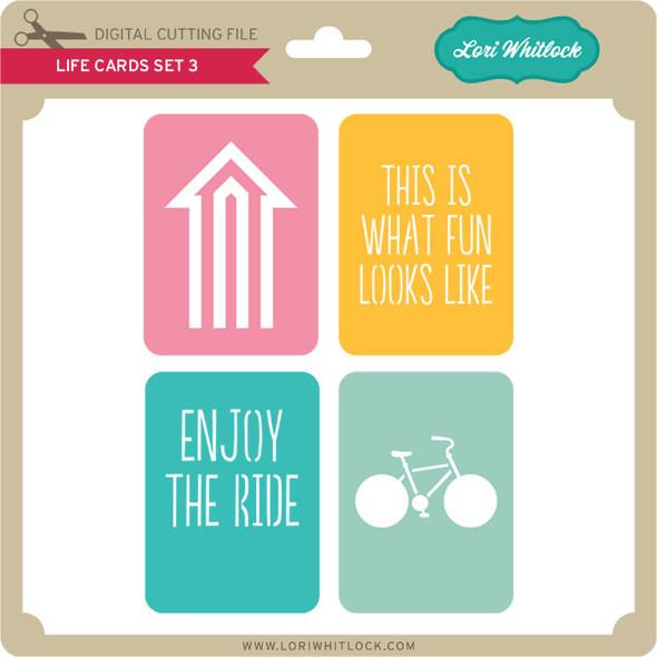 Life Cards Set 3