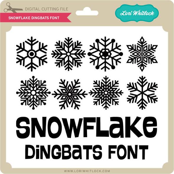 Snowflake Dingbats