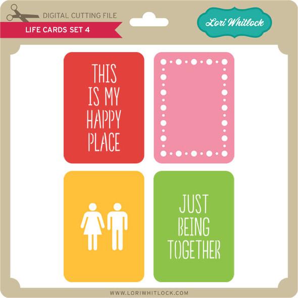 Life Cards Set 4