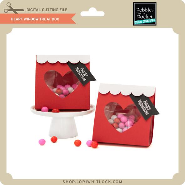 Heart Window Treat Box