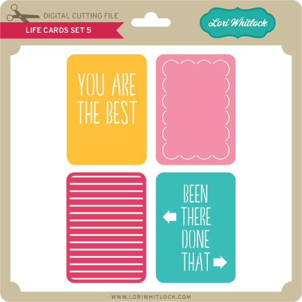 Life Cards Set 5