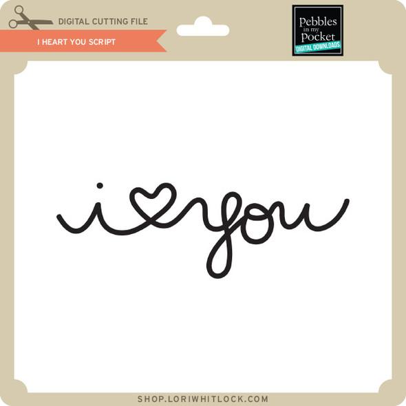 I Heart You Script