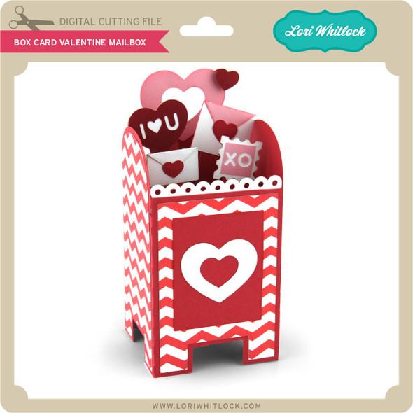 Box Card Valentine Mailbox