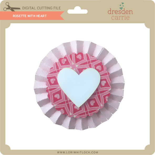Rosette with Heart