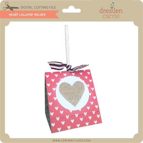 Heart Lollipop Holder