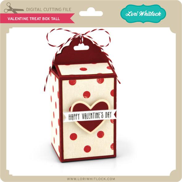 Valentine Treat Box Tall