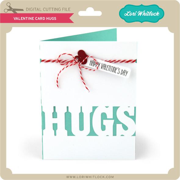 Valentine Card Hugs