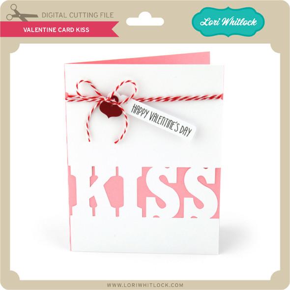 Valentine Card Kiss