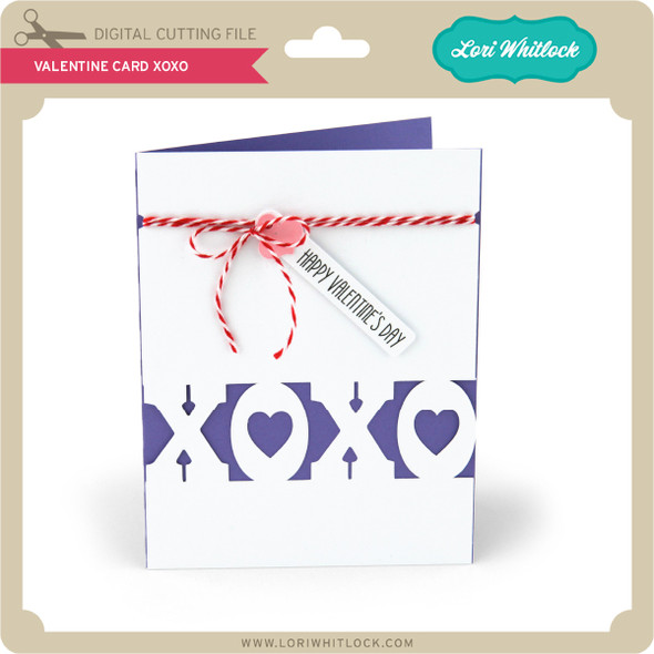 Valentine Card XOXO